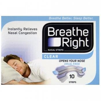 Breathe Right Regular Strips x 10