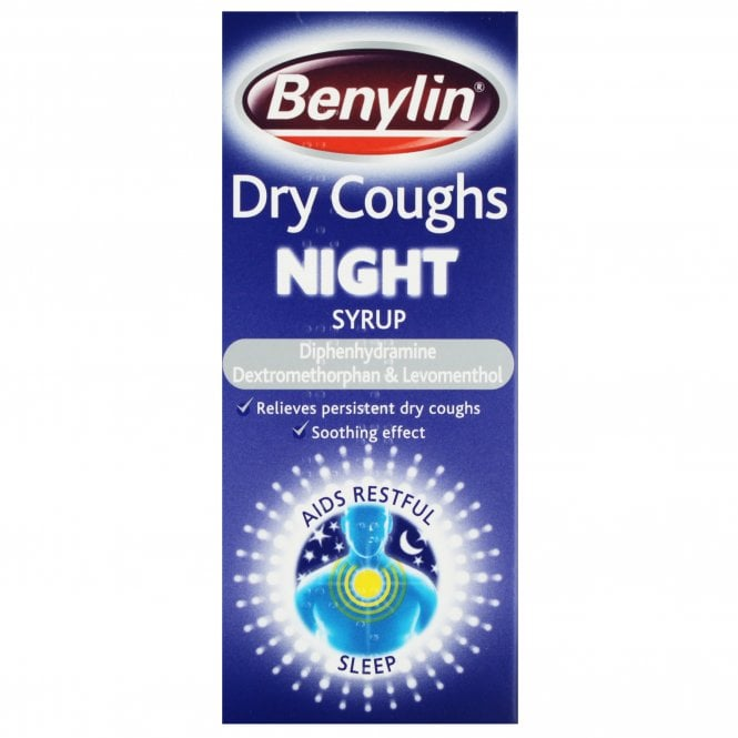 Benylin Dry Cough Night Syrup 150ml