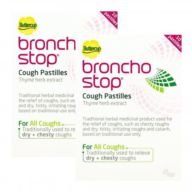 Bronchostop Cough Relief Pastilles