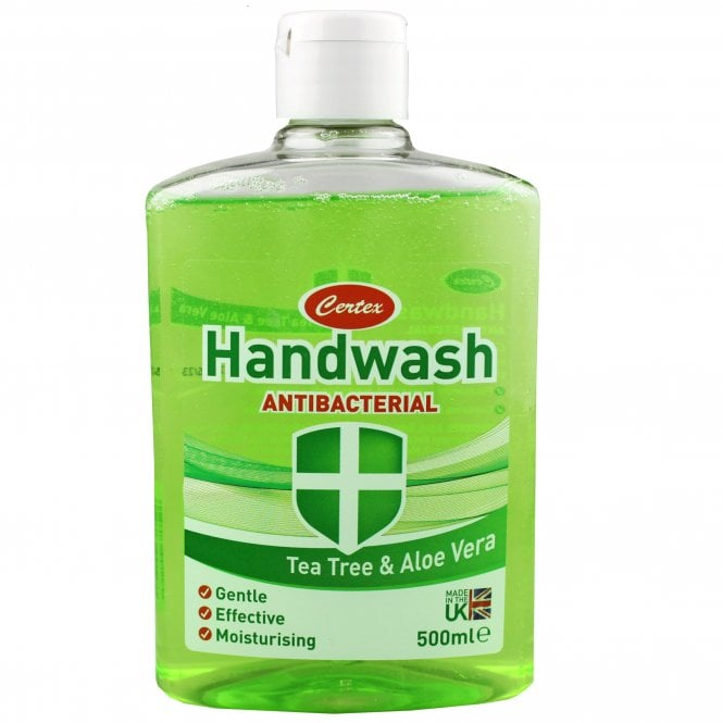 Cemtex Antibacterial Handwash Tea Tree & Aloe Vera 500ml