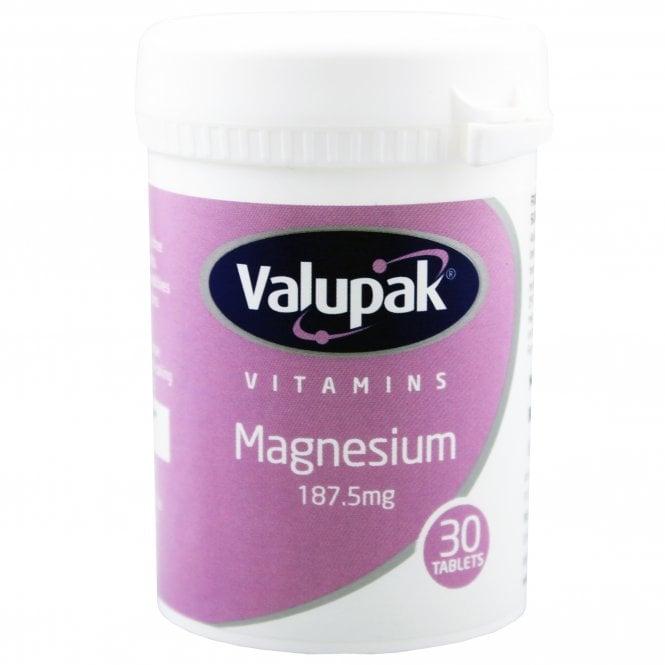 Valupak Magnesium 187.5mg x 30