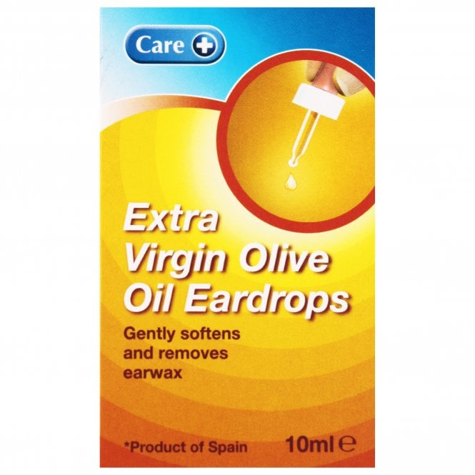 Care+ Care Extra Virgin Olive Oil Eardrops 10ml