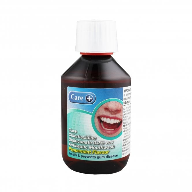 Care+ Chlorhexidine Mouthwash Mint 300ml