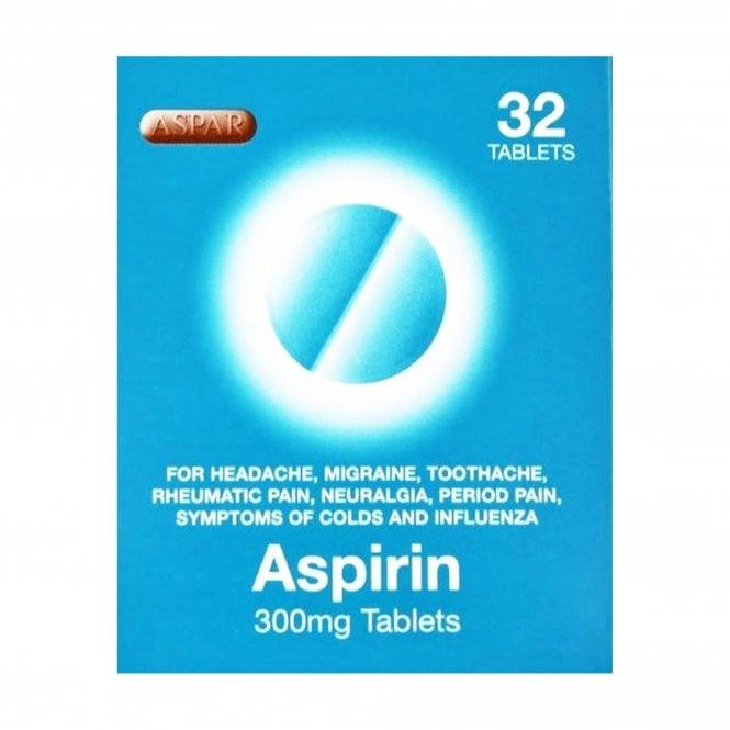 Aspirin 300mg Tablets 32