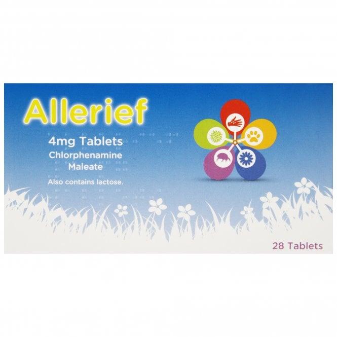 Chlorphenamine 4mg Allergy Tablets x 28