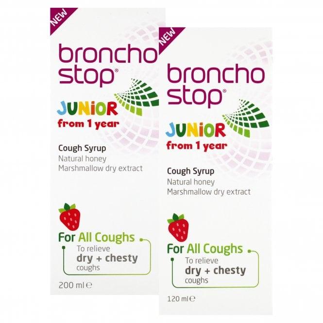 Bronchostop Junior Cough Syrup