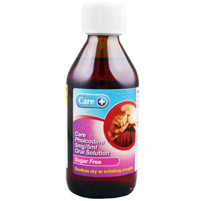 Care+ Care Pholcodine Sugar Free Linctus 200ml