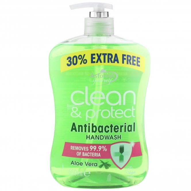 Clean & Protect Antibacterial Aloe Vera Handwash 650ml