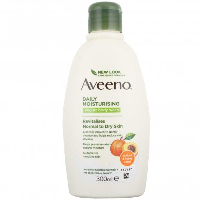 Aveeno Body Wash Apricot & Honey 300ml