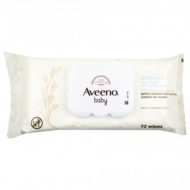 Aveeno Baby Daily Care Wipes 72s