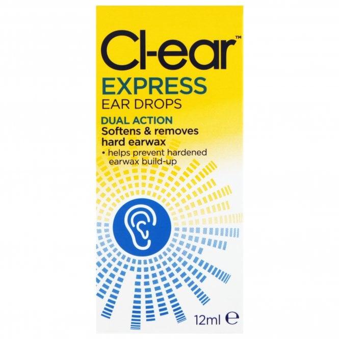 Cl-ear Express Ear Drops 12ml