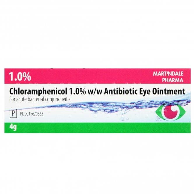Chloramphenicol Antibiotic Eye Ointment 1% 4g