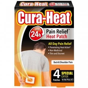 Cura-Heat Back & Shoulder Pain (4 Pack)