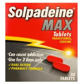 Solpadeine Max Tablets X 30
