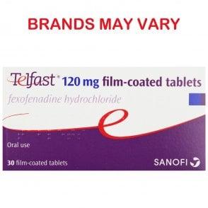 Fexofenadine 120mg Tablets