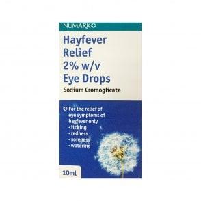 Sodium Cromoglicate Hayfever Relief 2% Eye Drops 10ml