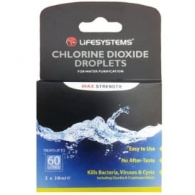 Lifesystems Chlorine Dioxide Droplets (44010)
