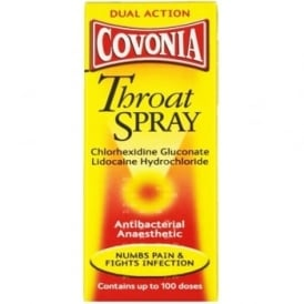 Covonia Throat Spray Dual Action 30ml