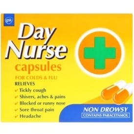 Day Nurse Cold & Flu Capsules x 20