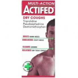 Actifed Multi Action Dry Cough Liquid 100ml