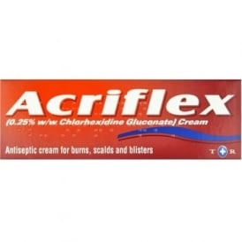 Acriflex Antiseptic BURN Cream 30g