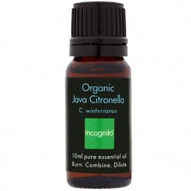 Incognito Organic Java Citronella Oil 10ml