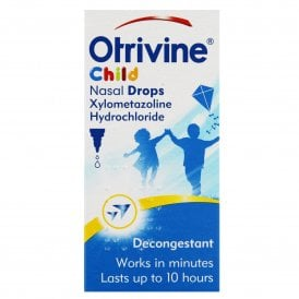 Otrivine Nasal Drops for Children 10ml