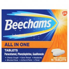 Beechams All-in-One Tablets X 16