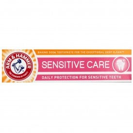 Arm & Hammer Sensitive Care Baking Soda Toothpaste 125g