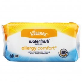 Kleenex Allergy Comfort Water Fresh Wipes (Pack Of 40)