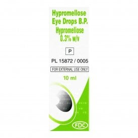 Hypromellose 0.3% Eye Drops 10ml