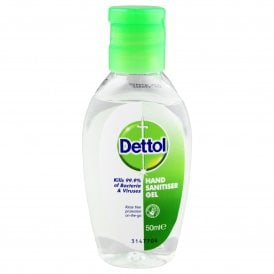 Dettol Hand Sanitiser Gel 50ml