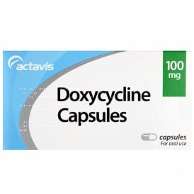 Doxycycline 100mg (Single Capsules)