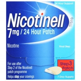 Nicotinell 7mg Patch 7 Pack