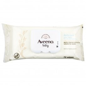 Aveeno Baby Daily Care Wipes 72s