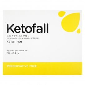 Ketofall Preservative Free Allergy Eye Drops